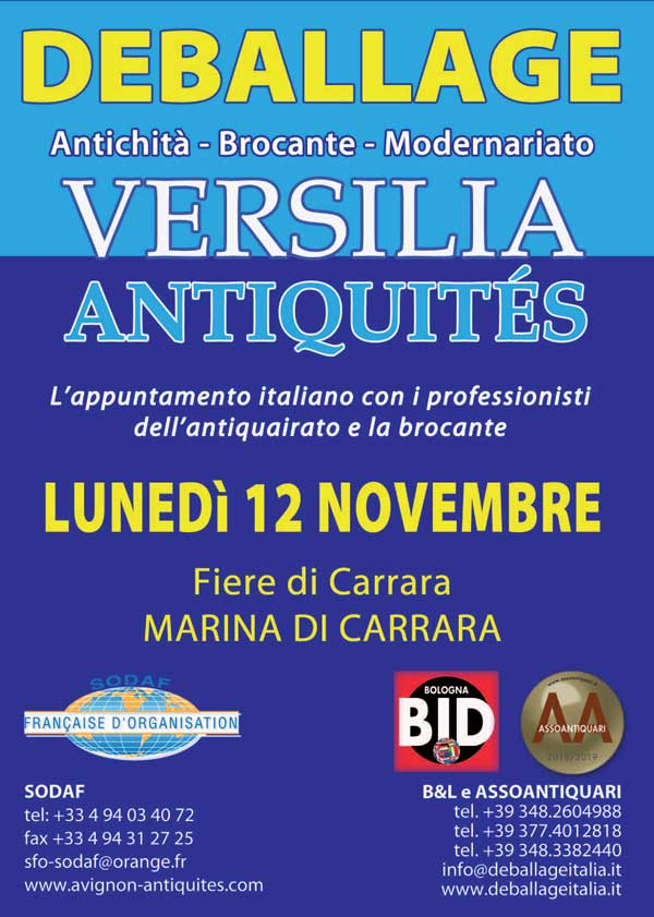 Antiquité, Brocante, Modernisme - Versilia Antiquités