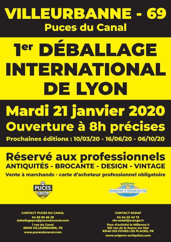 1er Déballage International de Lyon