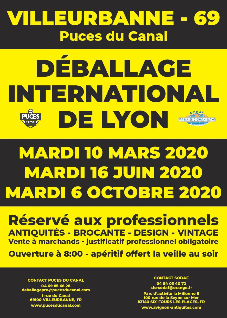 1er Déballage International de Lyon